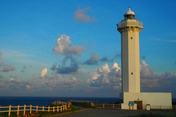 宮古島:東平安名崎「東平安名崎灯台」