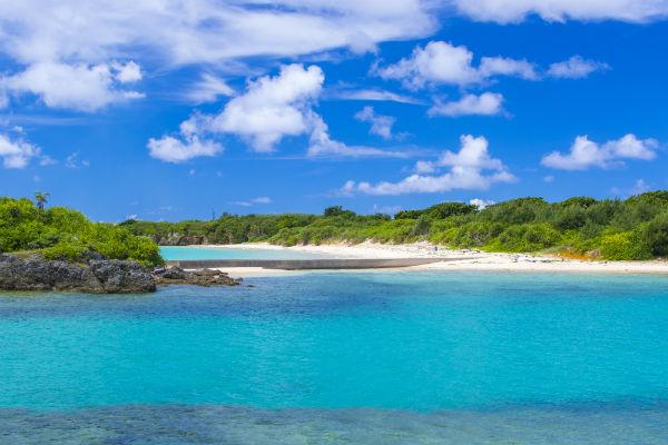 伊良部島:渡口の浜