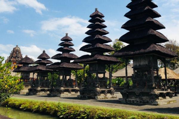 バリ島:タマン・アユン寺院