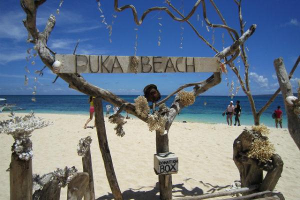 ボラカイ島:プカシェル・ビーチ