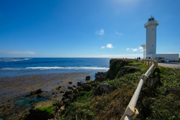 宮古島:東平安名崎と平安名崎灯台