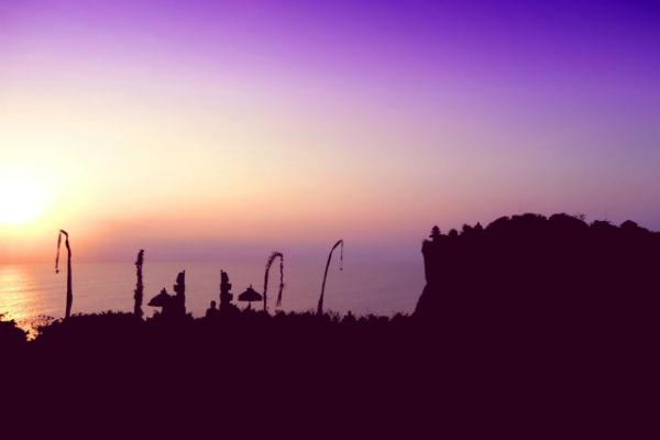 バリ島:ウルワツ寺院