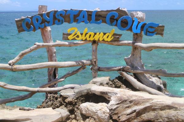 ボラカイ島アイランドホッピング:クリスタルコーブ島