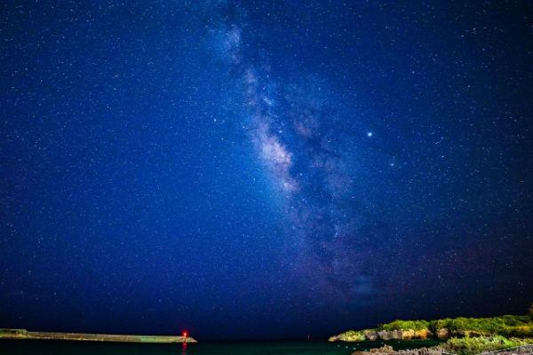 宮古島:宮古島から観測できる天の川