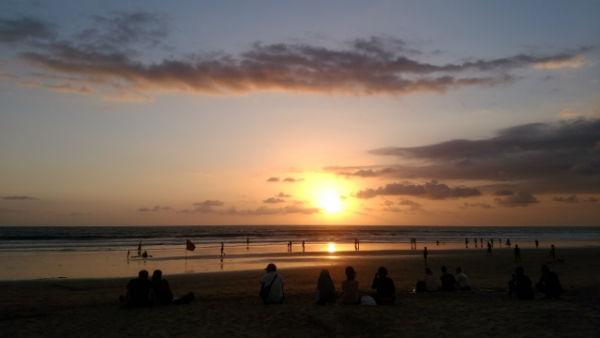 【バリ島:スミニャック】スミニャックビーチ