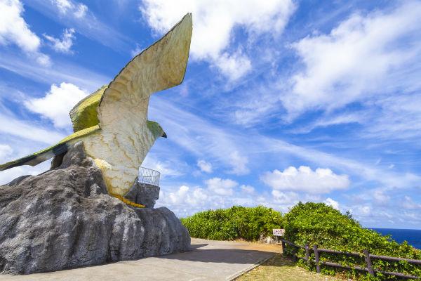 【伊良部島】フナウサギバナタ展望台