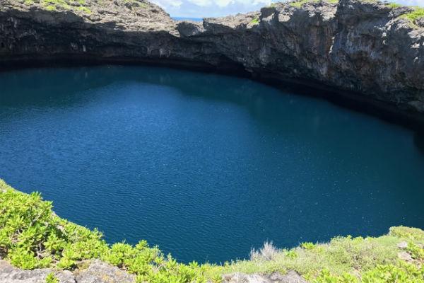 下地島:「通り池」